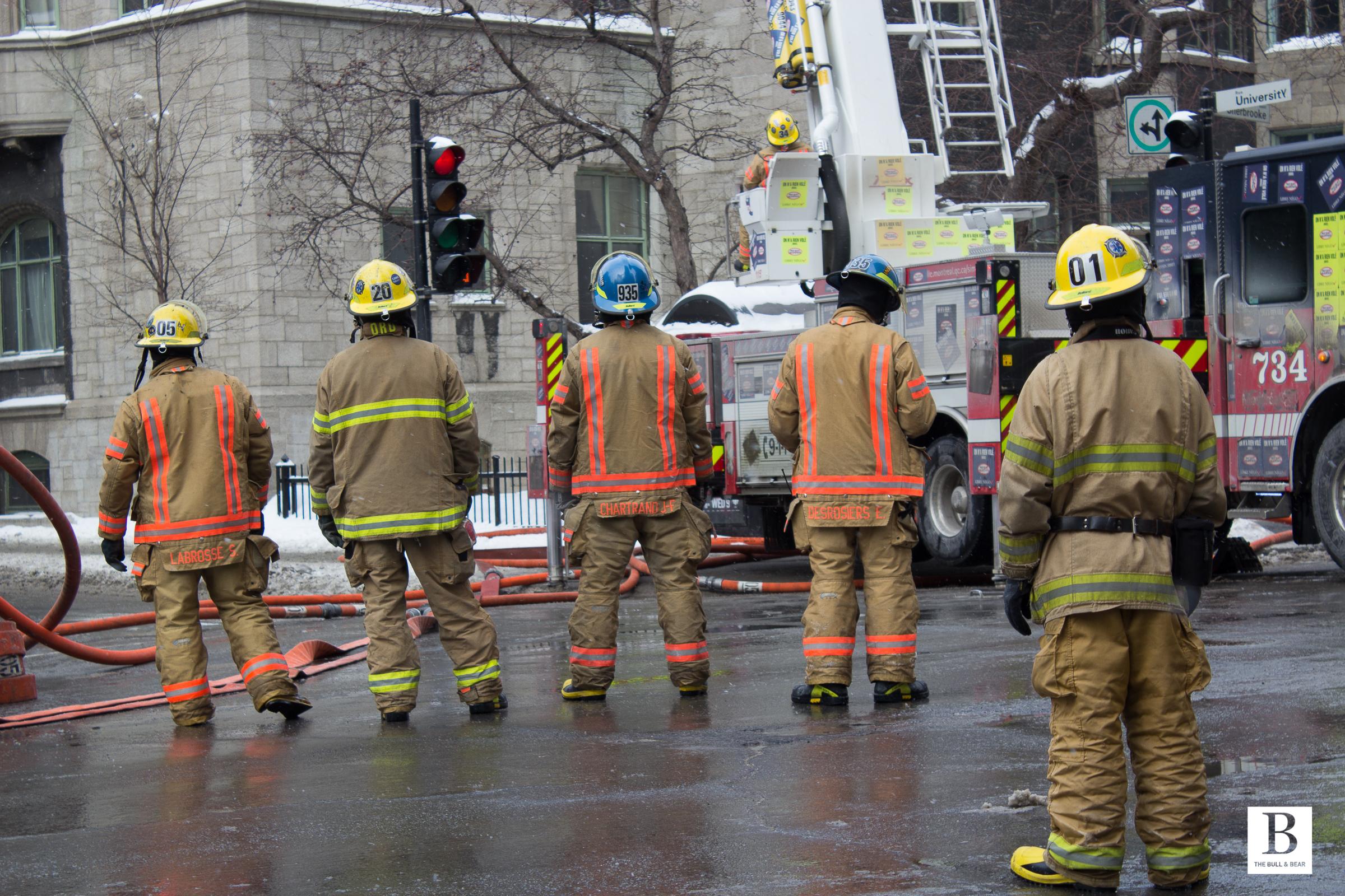 Feb 10th, 2015: Fire at Royal Victoria College