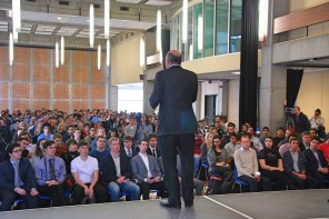 Kevin O'Leary's Talk Bred Discourse, Not Violence
